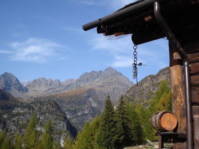 Valmalenco Panorama Dalla Brusada