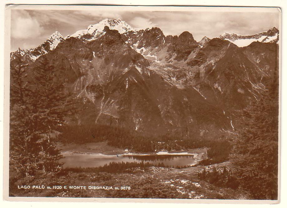 Lago Palù e Monte Disgrazia